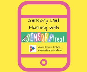 sensory diet planning app for SPD autism ADHD