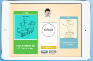 exercise buddy app for autism