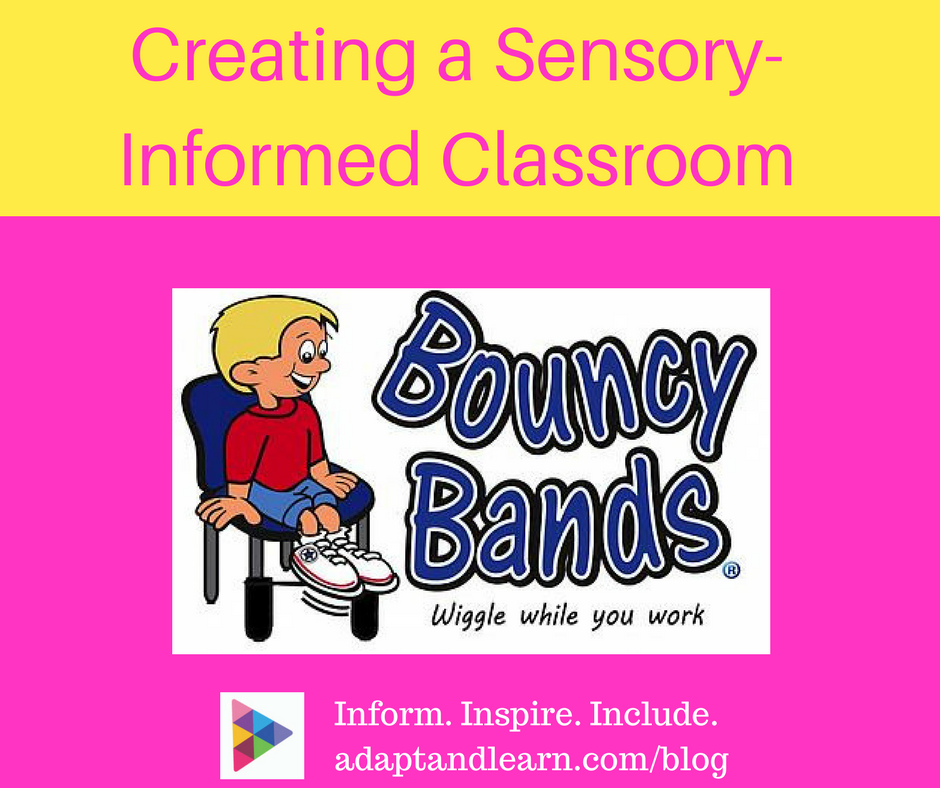 bouncy bands sensory informed classroom