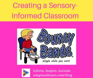 bouncy bands sensory informed classroom