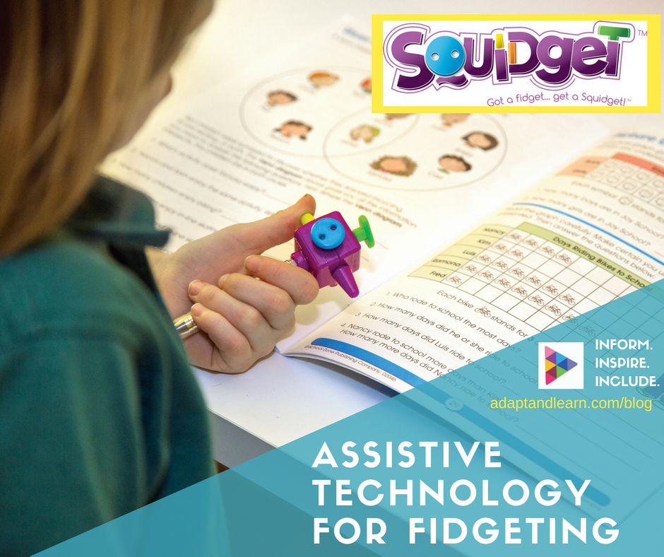 Assistive Technology Tool for Fidgeting ADHD Squidget