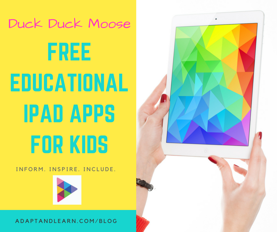 duck duck moose free apps for kids
