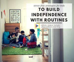 executive functioning, independence, kids