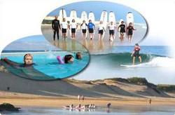 plage et surf, 45 minutes