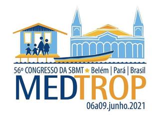 Congresso Brasileiro de Medicina Tropical 2021 ocorrerá em Bélem do Pará dos dias 06 a 09 de junho