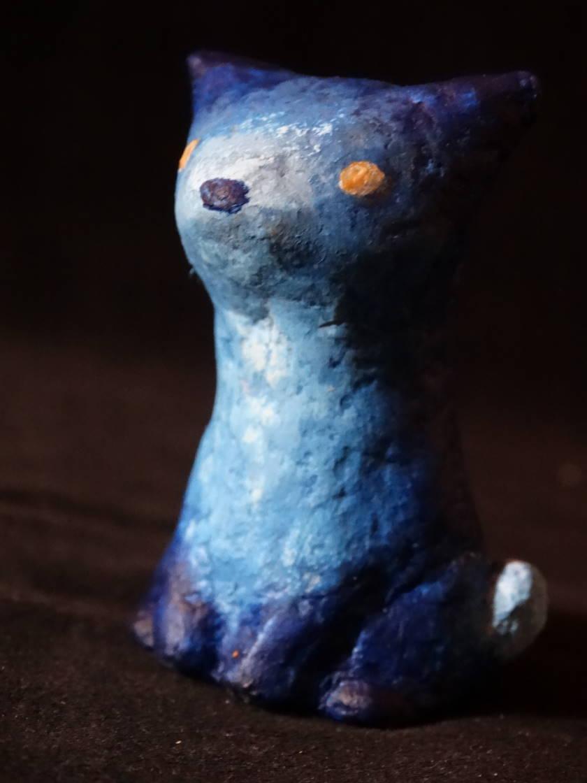 Tout petit renard bleu