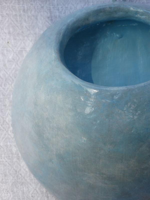 12cm bleu/gris