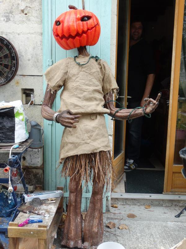 La mascotte du Hell'oween
