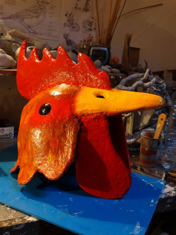 Masque coq