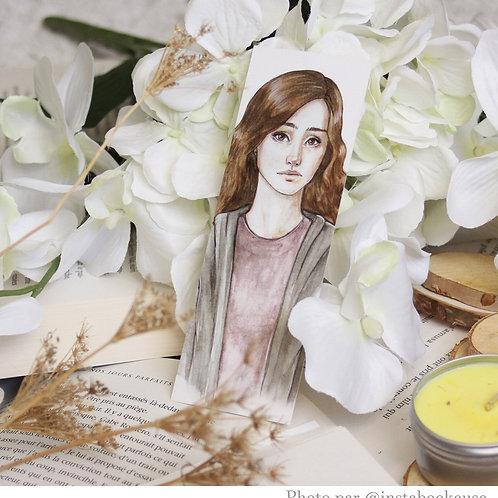 "Marque-page petit format ""Hermione"""