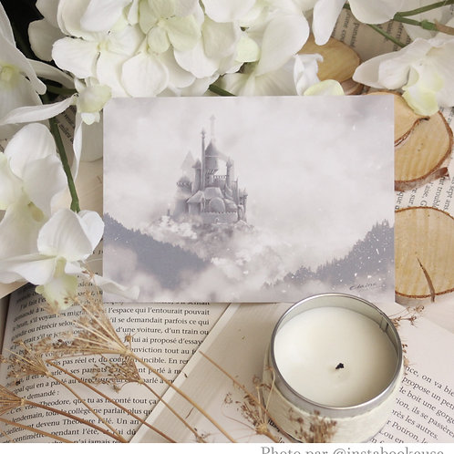 "Illustration carte A6 ""Castle"""