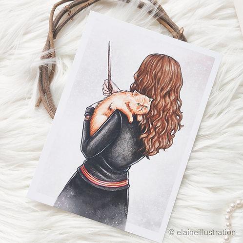 Carte Hermione et Pattenrond