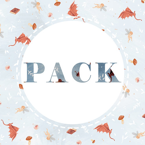 Pack collection Magie