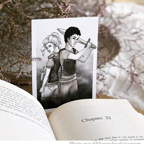 Illustration Percy Jackson format A6 - 10,5x14,8 cm