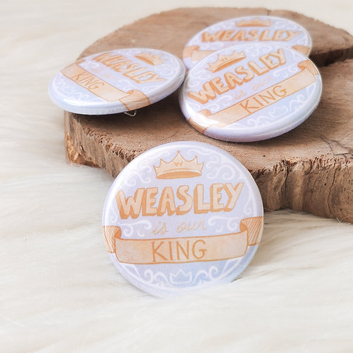 Badge Weasley is our king