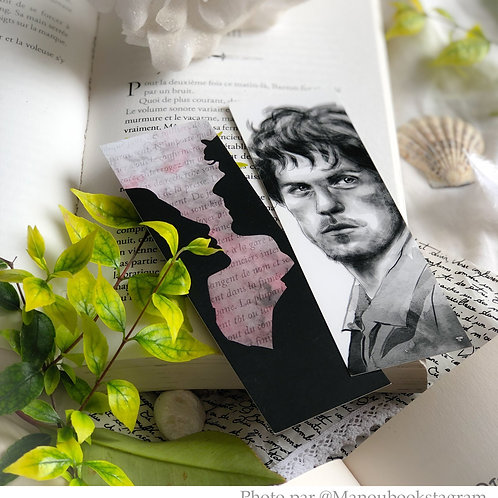 Marque-pages outlander jamie fraser et claire