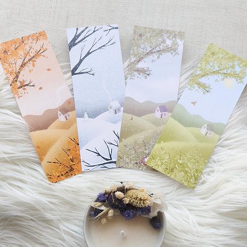 Marque-pages des saisons