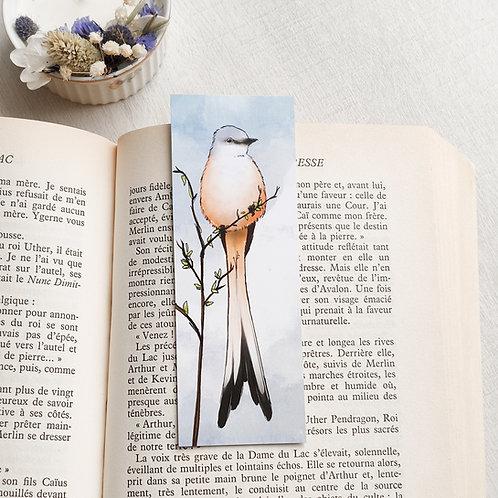 Marque-page petit format oiseau