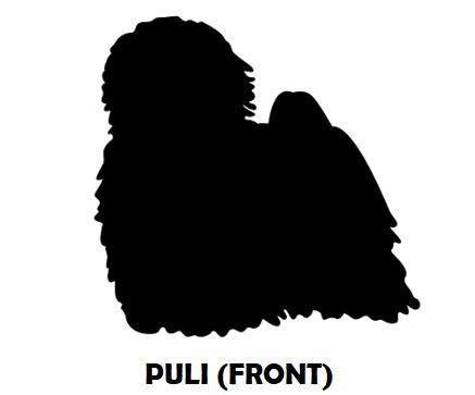 5Silhouette Sample - Hungarian Puli (Fro