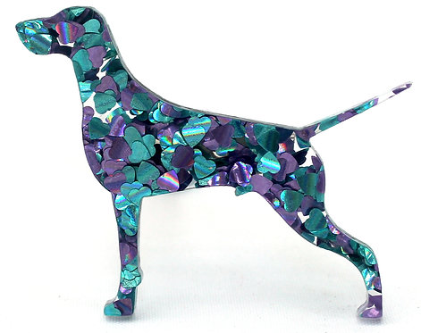 GERMAN SHORTHAIRED POINTER - Chunky Peacock