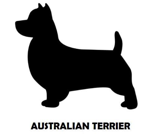 2Silhouette Sample - Australian Terrier.