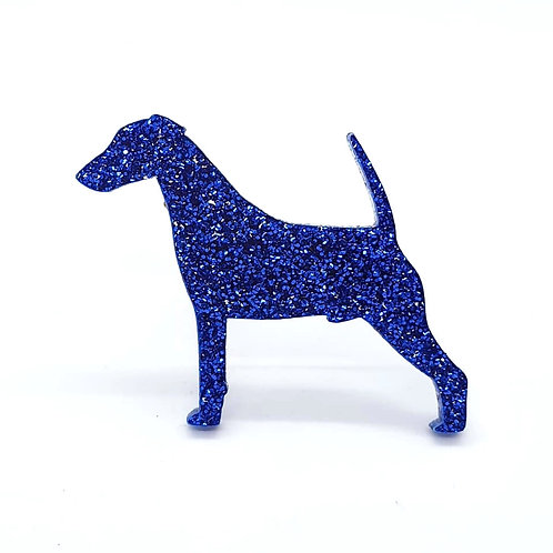 FOX TERRIER (SMOOTH) - Premium Royal Blue