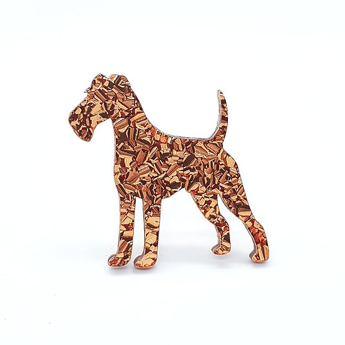 IRISH TERRIER - Chunky Copper