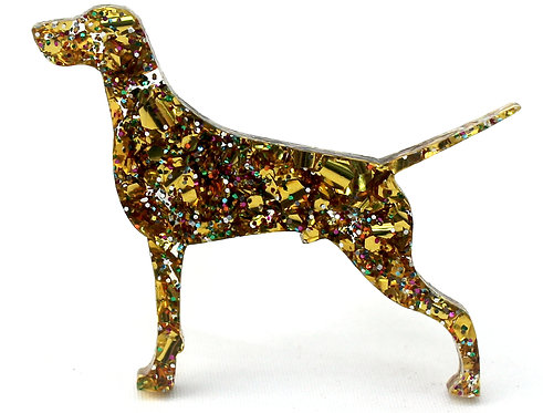 GERMAN SHORTHAIRED POINTER - Chunky Gold Rainbow