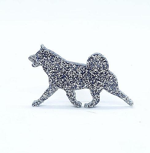 AKITA (MOVING) - Premium Silver