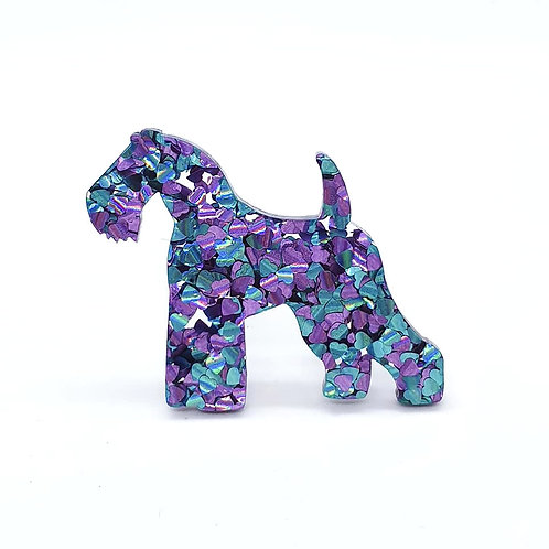 KERRY BLUE TERRIER - Chunky Peacock
