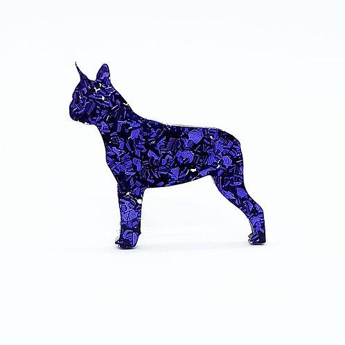 BOSTON TERRIER - Chunky Ultra Violet