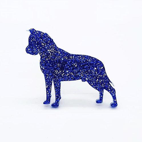 AMERICAN STAFFORDSHIRE TERRIER - Premium Royal Blue