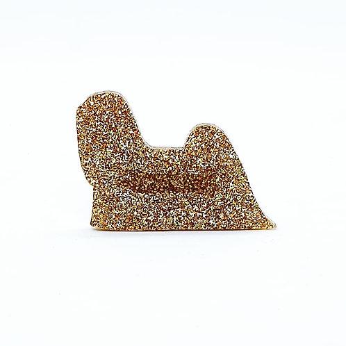 LHASA APSO - Premium Holographic Amber