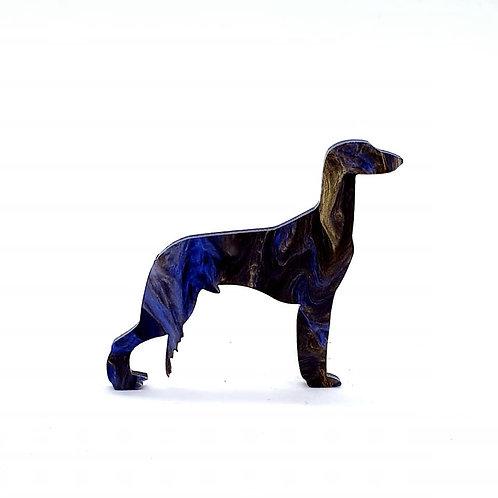 SALUKI - Phoenix Blue & Black