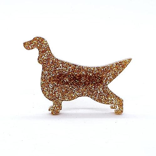 IRISH SETTER - Premium Holographic Amber