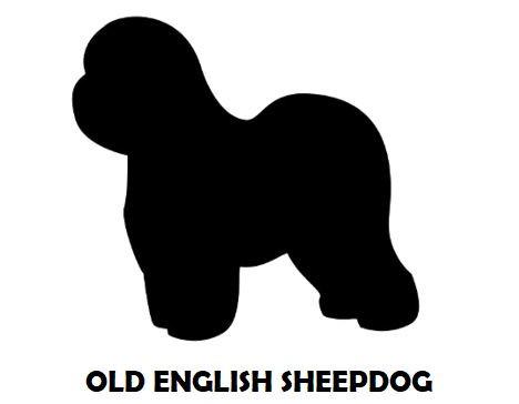 5Silhouette Sample - Old English Sheepdo