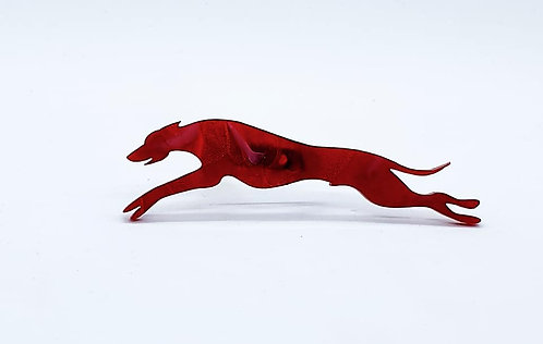 WHIPPET (OUTSTRETCHED) - Phoenix Red