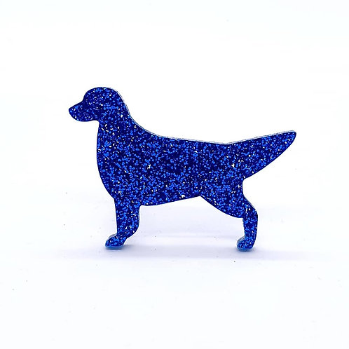GOLDEN RETRIEVER - Premium Royal Blue