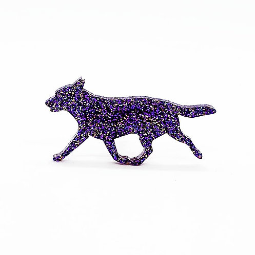 AUSTRALIAN CATTLE DOG (MOVING) - Premium Holographic Purple