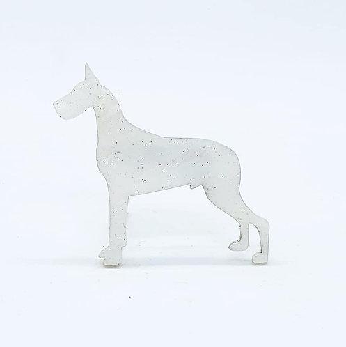 GREAT DANE - Shimmer White
