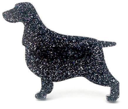 COCKER SPANIEL - Premium Holographic Black