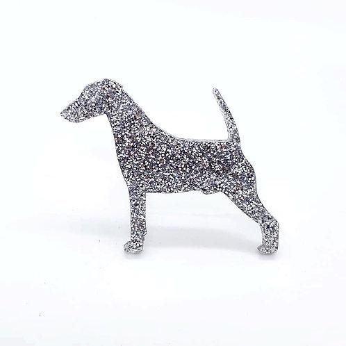 FOX TERRIER (SMOOTH) - Premium Silver