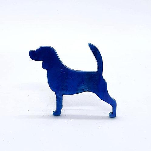 BEAGLE - Shimmer Cyan Blue