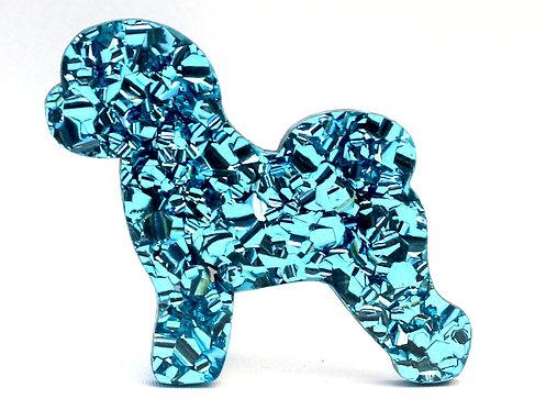 BICHON FRISE - Chunky Baby Blue