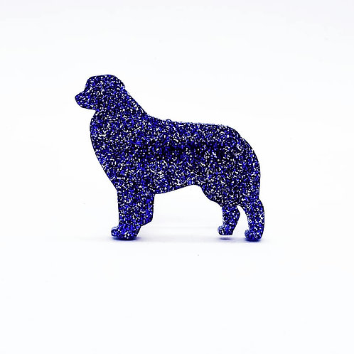 AUSTRALIAN SHEPHERD (STANDING) - Premium Royal Blue