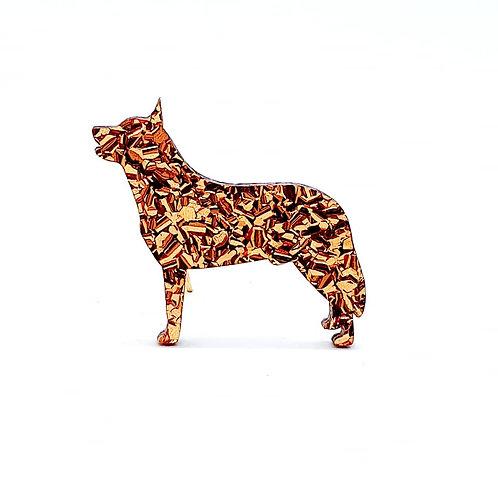 AUSTRALIAN CATTLE DOG (STANDING) - Chunky Copper