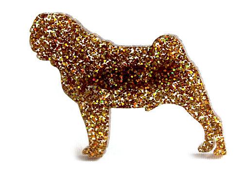 PUG - Premium Holographic Amber