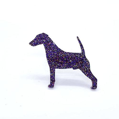 FOX TERRIER (SMOOTH) - Premium Holographic Purple