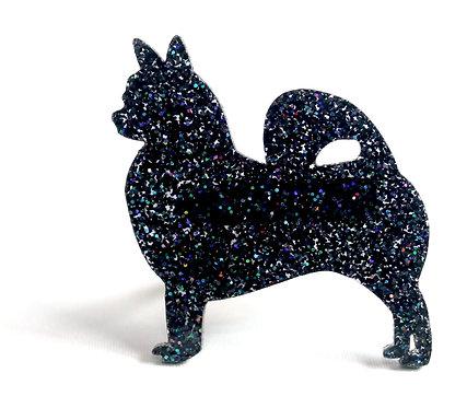 CHIHUAHUA (LONG COAT) - Premium Holographic Black