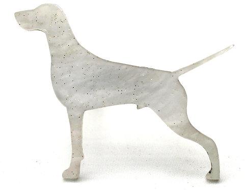 GERMAN SHORTHAIRED POINTER - Shimmer White